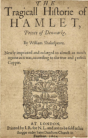 Hamlet, prince of Denmark (Άμλετ, πρίγκιπας της Δανίας)