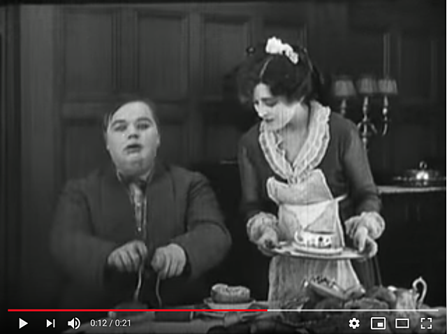 "1917 - Roscoe ""Fatty"" Arbuckle The Rough House"