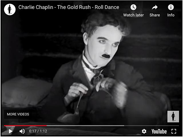 1925 - The Gold Rush - Dance of the Dinner Rolls