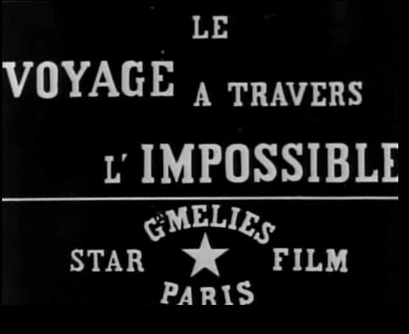 1904 Journey Through the Impossible George Melies