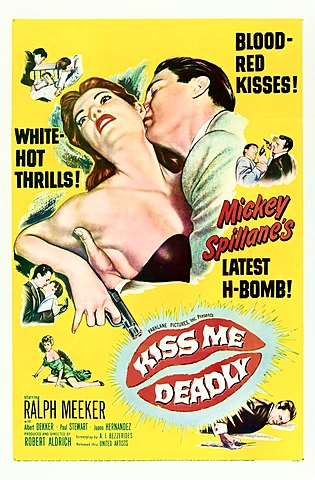 1955 Kiss Me Deadly homage in Pulp Fiction 1994