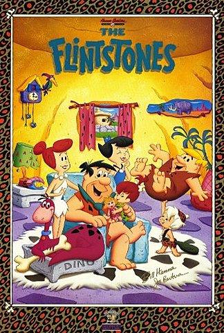 1960 - 1966 Flintstones homage in Pulp Fiction 1994