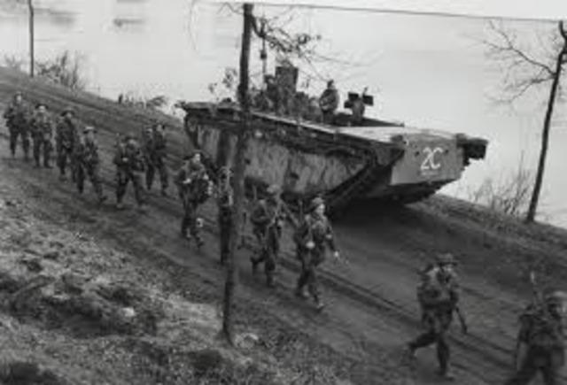 German troops invade Rhineland.