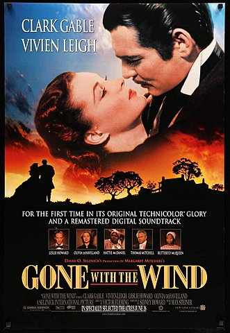 1939 Gone with the Wind Homage Django Unchained
