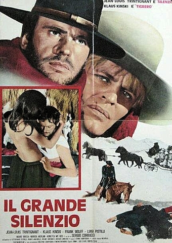 1968 Grand Silence homage in Django Unchained 2012