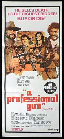 1968 A Professional Gun homage Django Unchained