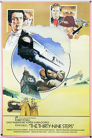 1978 Thirty Nine Steps homage to Safety First 1923