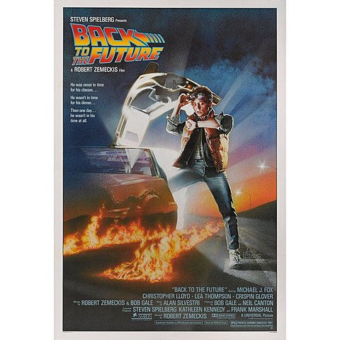1985 Back to the Future homage to Safety First 1923