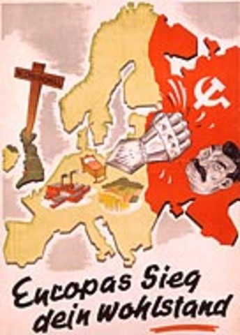Hitler announces plans for Iebensraum.