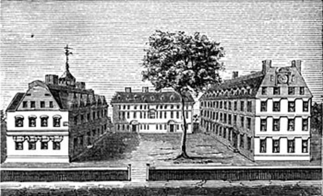 Harvard College Established