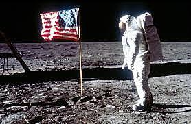 נחיתת האדם הראשון על הירח 1969