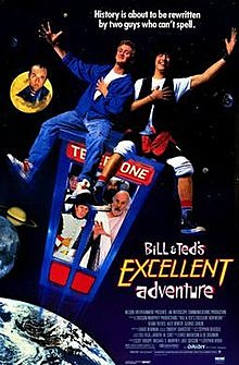1991 Bill & Ted's Excellent Adventure homage to The Seventh Seal (Death)