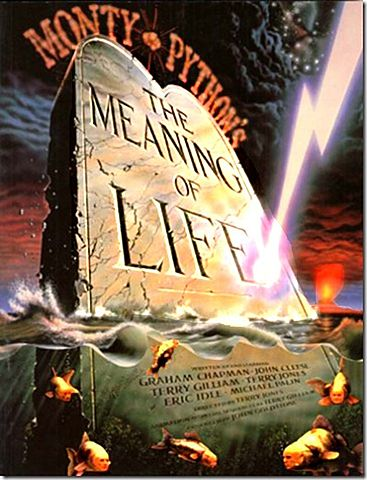1983 Monty Python's The Meaning of Life homage to The Seventh Seal (Death)