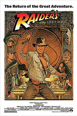 1981 Raiders of the Lost Ark Homage to Action Heroes of 30s & 40s