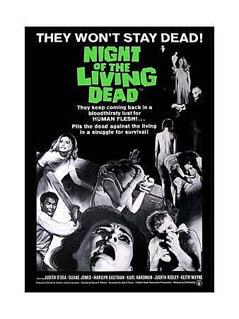 1968 The Night of the Living Dead homage in The Deader The Better 2007