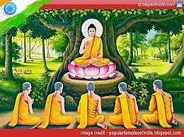 Siddhartha gautama travels and teaches