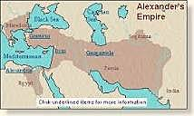 Alexander the Great defeats the Persians
