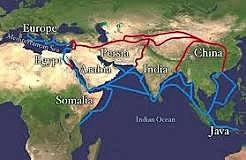 Silk Road established