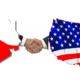 Texas shaking hands with usa