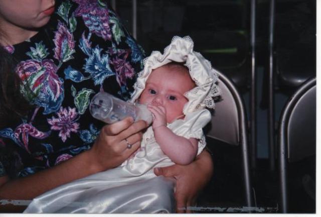 Hace quince años que bautizé.