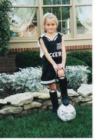 Hace siete años que jugé fútbol para cinco años.