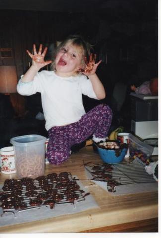 Hace once años que supe encantar CHOCOLATE!