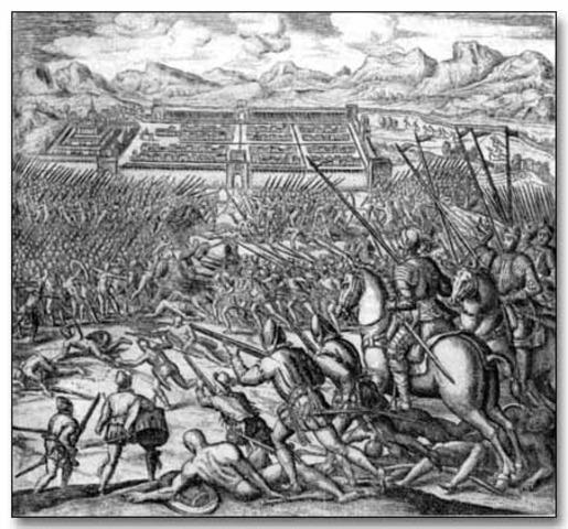 Incas' Defeat