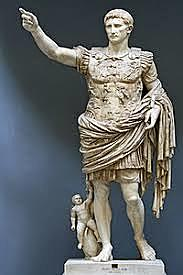 The Roman Empire begins