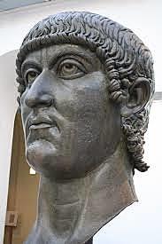 Constantine becomes emperor