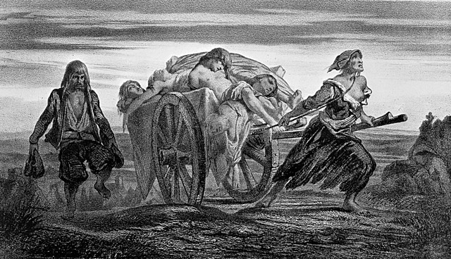 Bubonic Plague in Athens