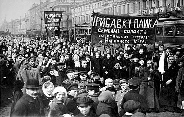 Huelga de las mujeres de Petrogrado
