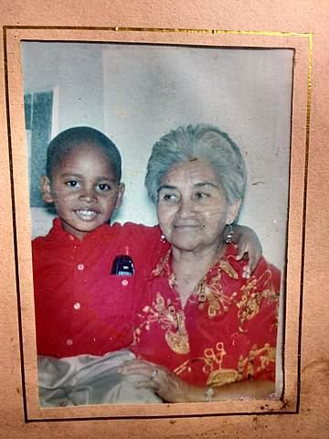 compartiendo con mi abuela