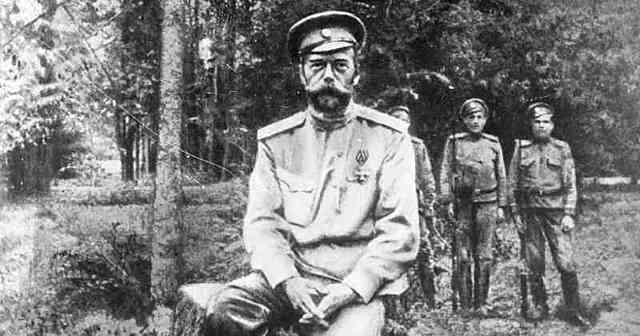 La abdicación del Zar Nicolás II