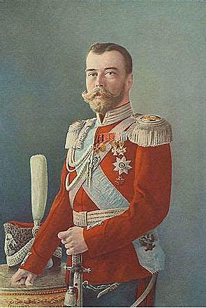 El Zar Nicolas II abdica al trono