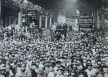 surgimiento del Sóviet de Petrogrado