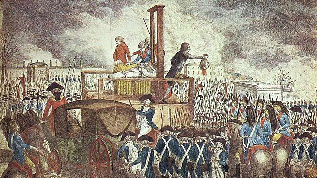 Ejecucion del rey Louis XVI