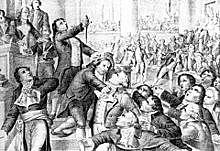 La ejecucion de Maximiliano Robespierre
