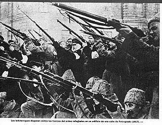 Primer intento de insurrecion contra el nuevo gobierno provisional