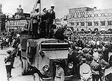 Fin de la contrarrevolucion Rusa