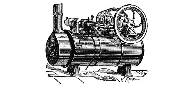 Se patenta la máquina de vapor.