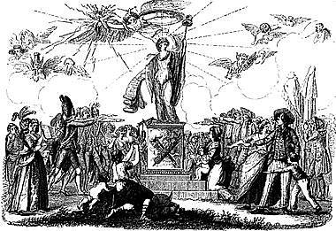 Proclamación de la primera Constitución Francesa.