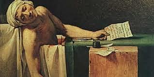 Asesinato de Jean-Paul Marat.