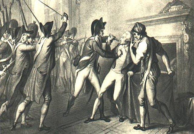Ejecución de Maximiliano Robespierre.