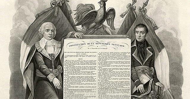 Promulgación de la Constitución del año III.