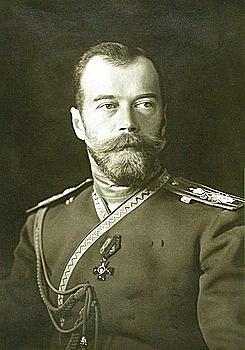 Abdicación del Zar Nicolás II.