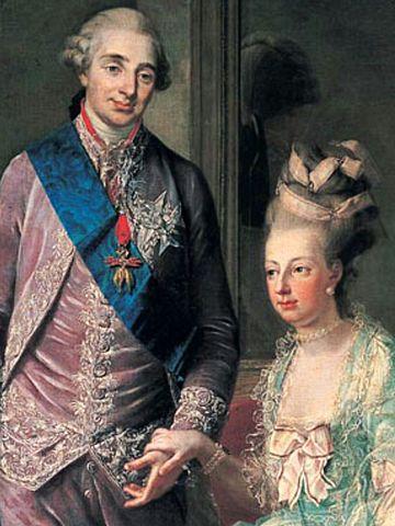 Matrimonio de Luis XVI y Maria Antonieta