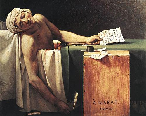 Muerte Jean-Paul Marat