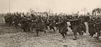 Guerra civil entre los bolcheviques y los contrarrevolucionarios.