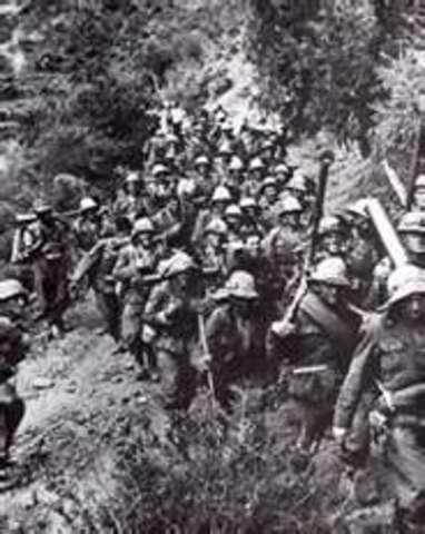 italian troops conquer Ethopia