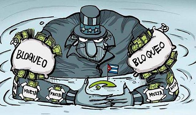 EUA bloqueja econòmicament a Cuba